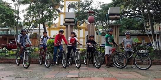 En Pandi, doce jóvenes sueñan con ser ciclistas