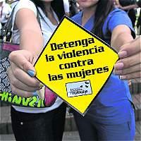 En Bogotá, aumenta violencia de pareja contra mujeres