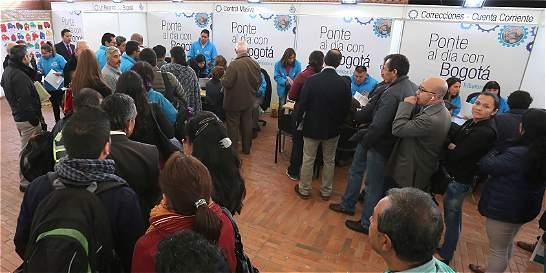 Morosos en Bogotá, en busca de una oportunidad
