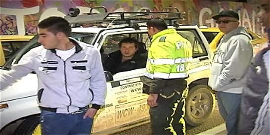 Conductor ebrio que manejaba vehículo de Codensa chocó con taxista