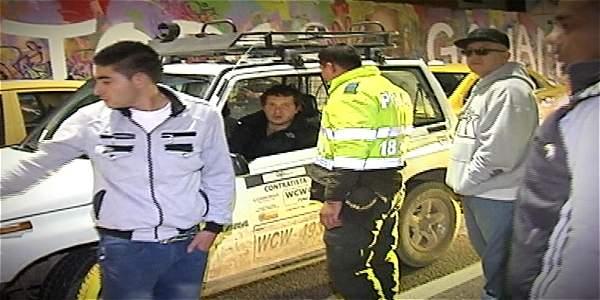 Conductor ebrio que manejaba vehículo de Condensa chocó con taxista