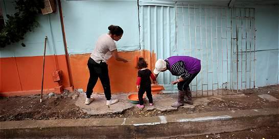 Para el 2020 esperan pintar 30 mil fachadas en zonas vulnerables