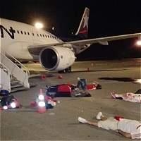 Hinchas de América bloquearon pista del aeropuerto de Cali por demoras