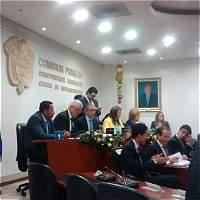Enrique Peñalosa asistió al Congreso y defendió el metro elevado