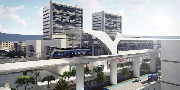Este es el metro elevado que será construido en la Avenida Caracas Tendrá ciclorrutas y una calzada para particulares.