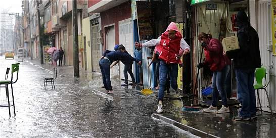Ideam prevé dos semanas más de lluvias en Bogotá