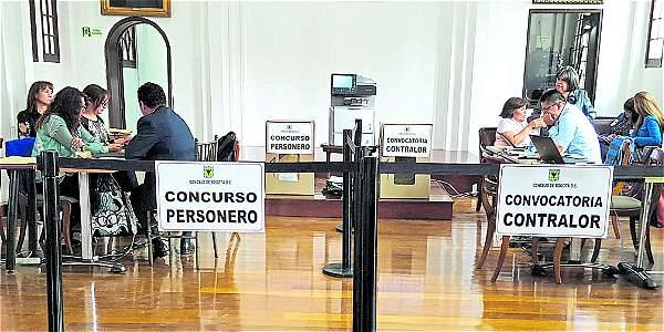 La elección de personero y contralor pasó por un proceso accidentado en el cabildo.