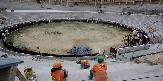 El próximo 14 de enero entregan la plaza de toros de Bogotá