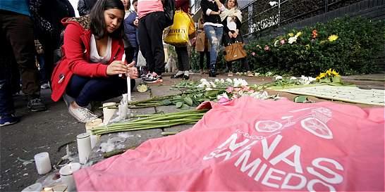 Indignación nacional por crimen de niña de 7 años en Bogotá