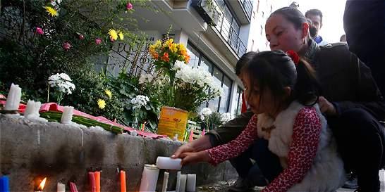 Protestan en Bogotá por asesinato de niña de 7 años