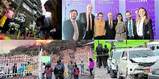 Las noticias más relevantes que dejó Bogotá en este 2016