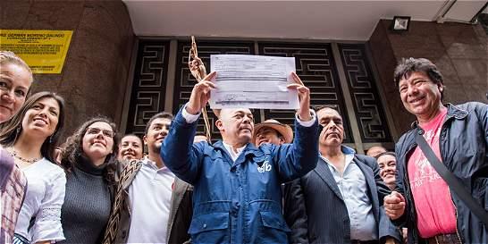 Las razones por las que promueven revocatoria del alcalde Peñalosa