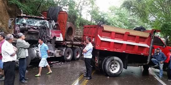 Dos accidentes de tránsito se registraron en vías de Cundinamarca