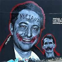 El mural en Bogotá que recuerda el crimen de Rafael Uribe Noguera