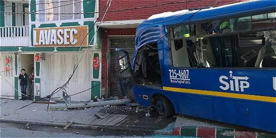 Tragedia del SITP en el barrio Santa Inés estaba 'cantada'