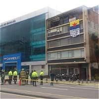 Estalló petardo en la carrera 7.ª con calle 34 en Bogotá