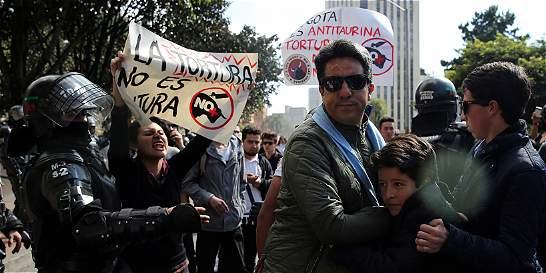 La temporada taurina empieza con protestas
