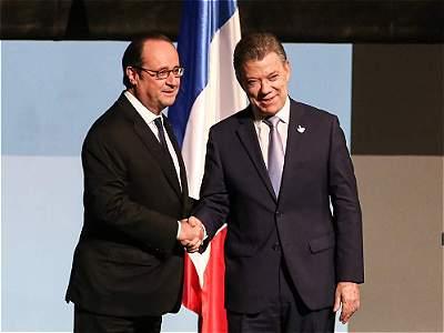 El año Colombia - Francia 2017
