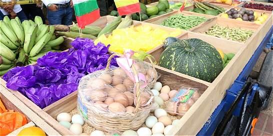Vuelven los mercados campesinos a cuatro parques de Bogotá