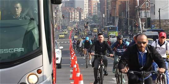 Este jueves se realizará el día sin carro y sin moto en Bogotá