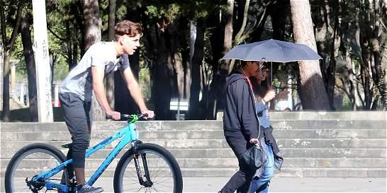 Bogotá alcanzó el máximo de calor en 60 años