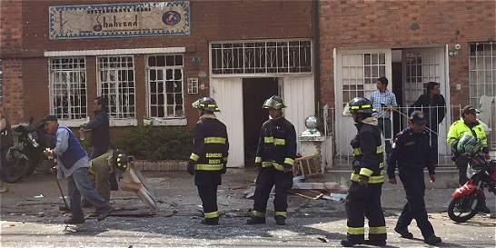 Petardo de bajo poder causó explosión en localidad Teusaquillo