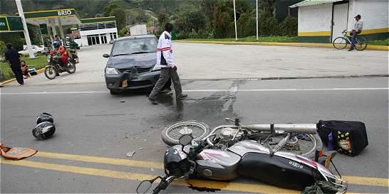 Este año, bajaron 17 por ciento las muertes en las vías de Bogotá