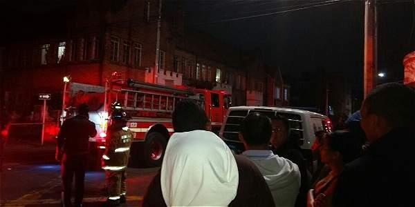 Se registra explosión en el sector de Teusaquillo, en Bogotá