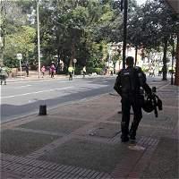 Explosión cerca de la plaza la Santamaría en Bogotá