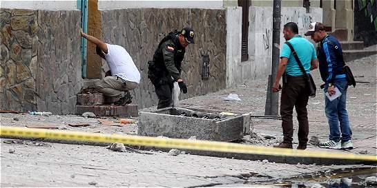 40 personas fueron valoradas por explosión cerca de La Santamaría