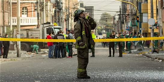 Descartan presunto petardo en la carrera 17 con calle 47 en Bogotá