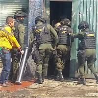 Policía desmanteló 'olla' de microtráfico cerca al burdel El Castillo