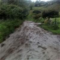 Dos muertos y cinco desaparecidos dejan lluvias en Gachetá