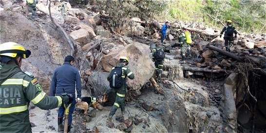 Intensifican búsqueda de personas desaparecidas por lluvias en ... - ElTiempo.com