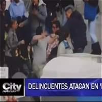 Delincuentes atacan en 'manada' en el centro de Bogotá