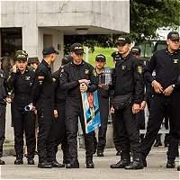 Amigos y familiares rindieron homenaje a patrullero asesinado