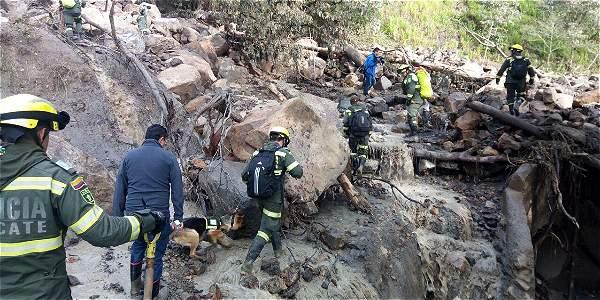 Rescatan el cuerpo de una mujer tras avalancha en Gachetá - ElTiempo.com