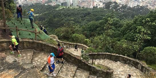 Abrieron el sendero de Monserrate, después de más de un año de cierre