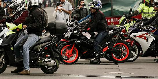 Motocicletas, las más contaminantes en Bogotá