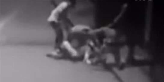 Ladrones agreden a golpes y puñaladas a pareja por atracarla