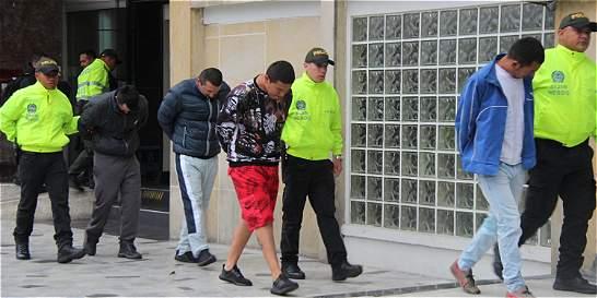 En dos meses, la Policía desmanteló 15 bandas criminales en Bogotá
