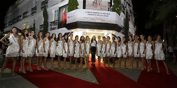 La noche de este jueves fue la presentación oficial de la alianza entre D'Norberto Peluquerías y el Concurso Nacional de la Belleza.