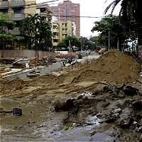Por amagos de invierno, Distrito 'blinda' obras en Barranquilla