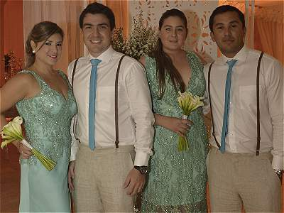 Matrimonio Ibáñez - Buitrago, en Cartagena