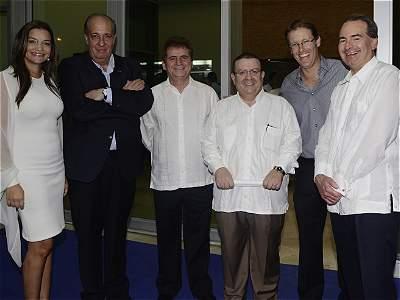 Inauguración de la Clínica Iberoamérica