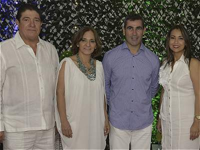 Cena blanca en Cartagena
