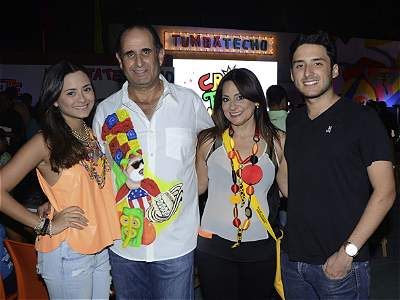 Coctel en 'Tumbatecho' carnavalero