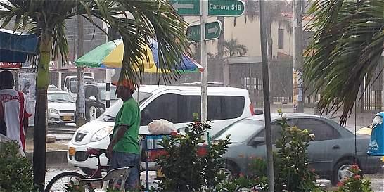 Electricaribe no pudo con primeras lloviznas en Barranquilla