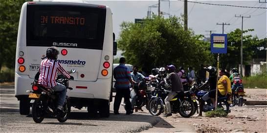 Por accidente que comprometió a bebé, Transmetro no anda en Soledad