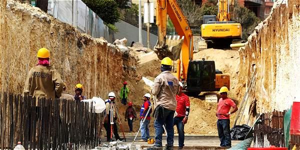 En la canalización del arroyo de la calle 84 se invierten 66 mil millones de pesos.